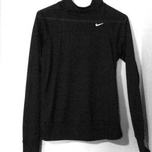 Nike dry fit hooded long sleeve tee